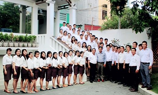 Hình ảnh tập thể nhân viên công ty 2