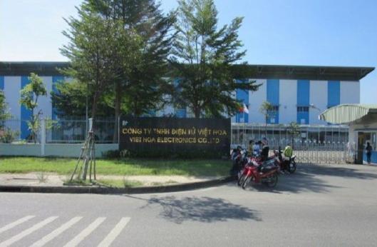 Nhà máy Công ty Điện Tử Việt Hoa