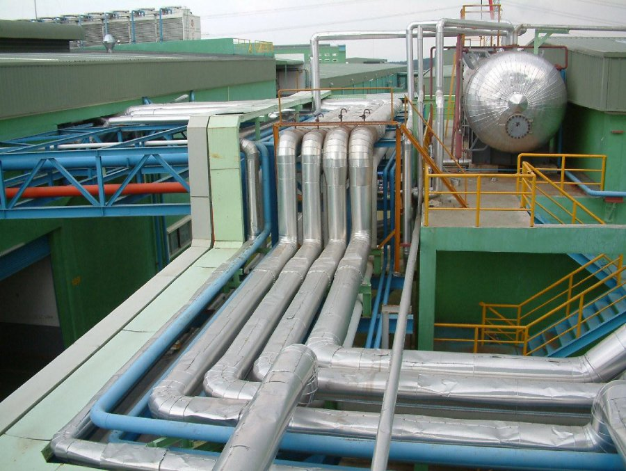 Pipe_line_system_of_boiler-Pormosa_Company